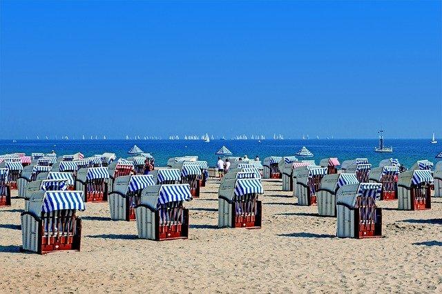 plážové domečky