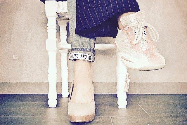 béžové boty