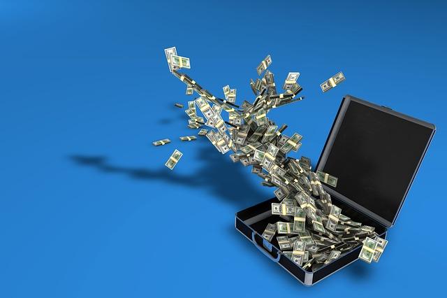 bohatství v kufru