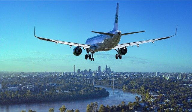 klesání letadla