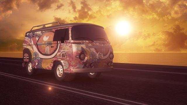 hippie volkswagen